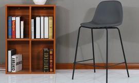 כיסא בר מרופד