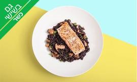 ארוחת דגים זוגית כולל יין