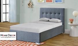 מיטת יחיד מרופדת HOME DECOR