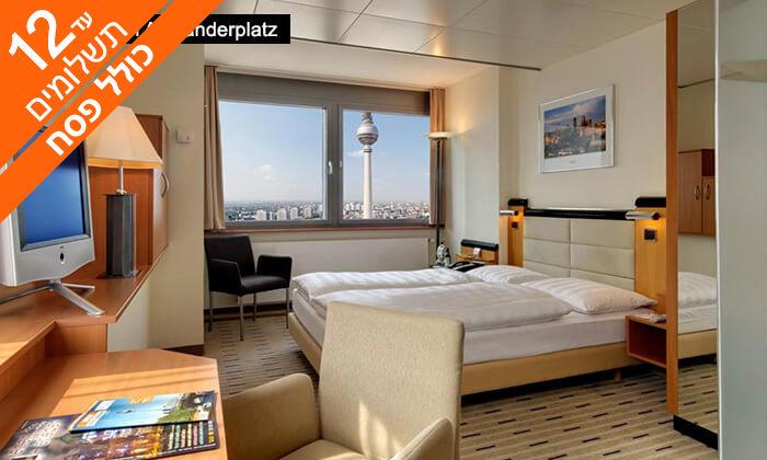 8 חופשה בברלין - שופינג, בתי קפה, גלריות וחיי לילה, כולל פסח
