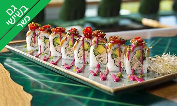 8 ארוחה אסייתית זוגית כשרה במסעדת ניושי, נס ציונה