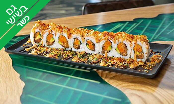10 ארוחה אסייתית זוגית כשרה במסעדת ניושי, נס ציונה
