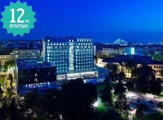 חורף 2020 בבלגרד - מלון 5*