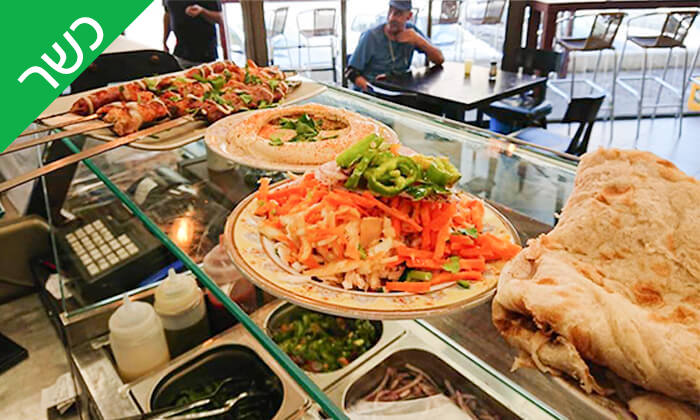 6 ארוחה זוגית כשרה במסעדת שיפודי בן, חולון