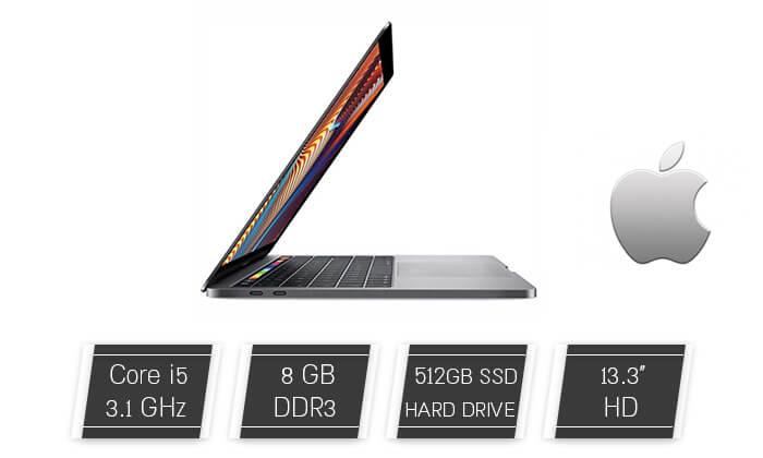"""2 מחשב נייד Apple עם מסך מגע """"13.3 - משלוח חינם"""