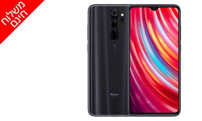 4 סמארטפון Redmi Note 8 Pro- משלוח חינם