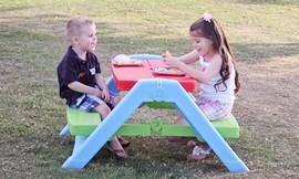 שולחן פיקניק מתקפל לילדים