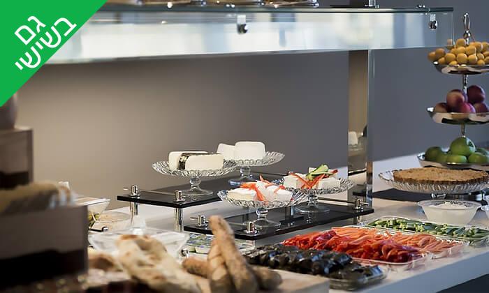 2 ארוחת בוקר בופה במלון לאונרדו פלאזה, נתניה