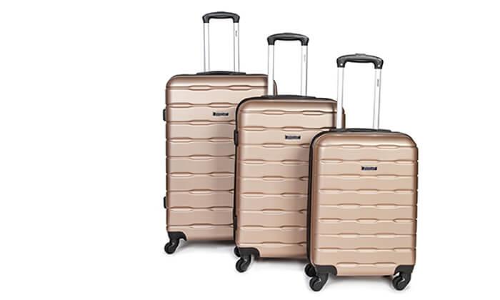 13 סט 3 מזוודות קשיחות SWISS