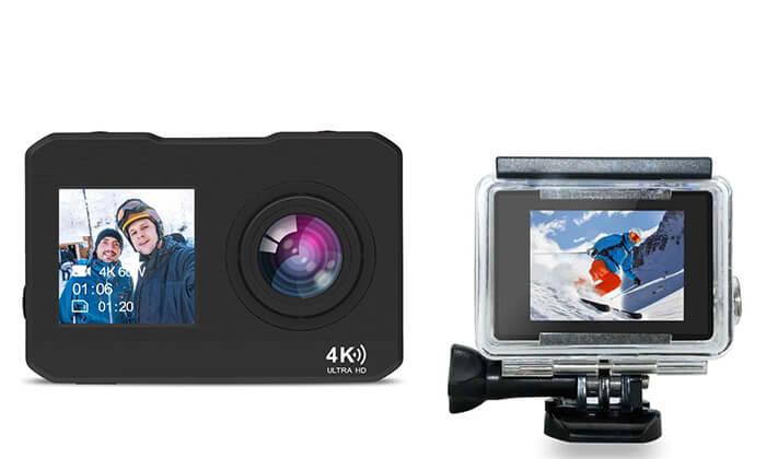 4 מצלמתוידאו אקסטרים4K עם שני צגים