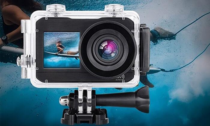 3 מצלמתוידאו אקסטרים4K עם שני צגים