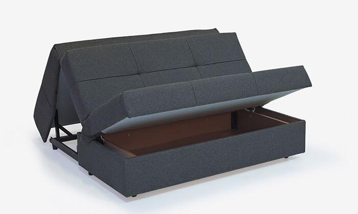 3 ספה דו מושבית נפתחת למיטה זוגית