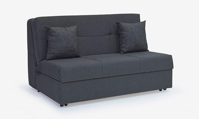 6 ספה דו מושבית נפתחת למיטה זוגית