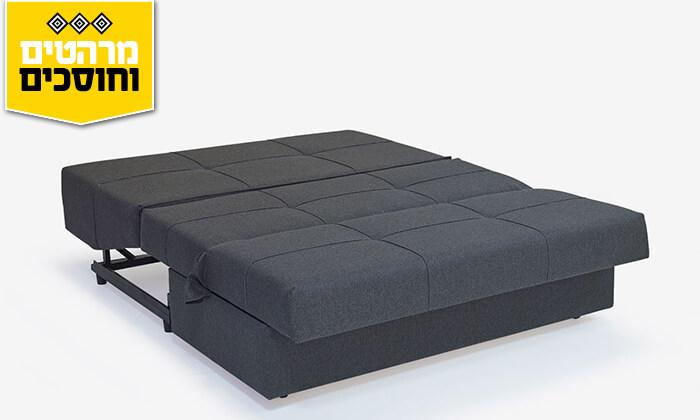 5 ספה דו מושבית נפתחת למיטה זוגית