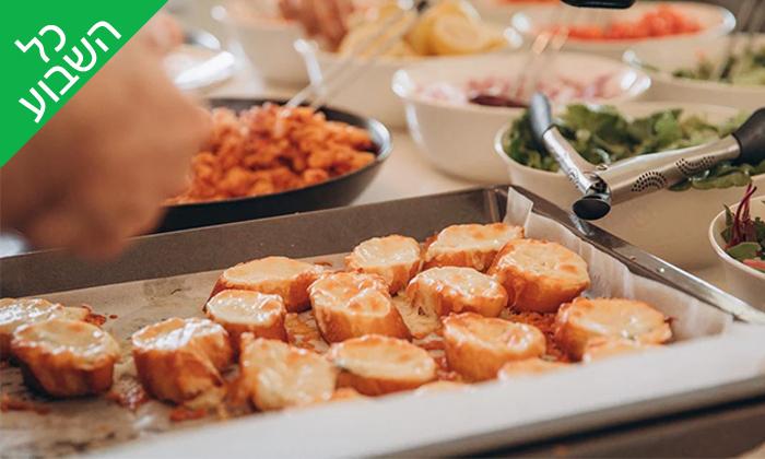 6 ארוחת צהריים זוגית בבבית של דולב ויאסיה - Sea Nior, נתניה