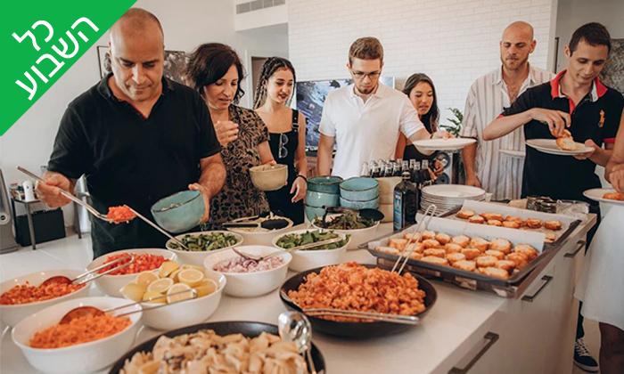 12 ארוחת צהריים זוגית בבבית של דולב ויאסיה - Sea Nior, נתניה