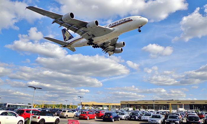 3 חניית V.I.P בנמל התעופה בן גוריון עם טסים ת'אוטו
