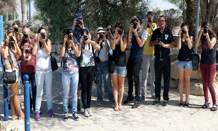 15 קורס צילום מקצועי בהדרכת אמן הצילום ז'ק דנטס