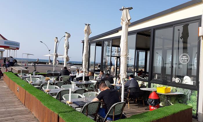 3 ארוחת בוקר כשרה לזוג במסעדת פרש קיטשן, סניף נמל תל אביב