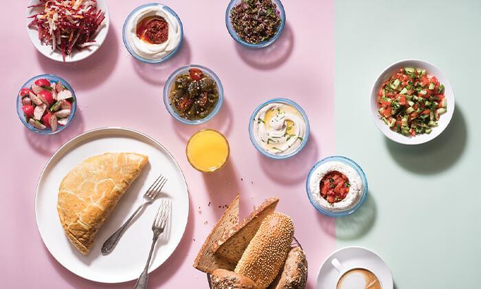 2 ארוחת בוקר כשרה לזוג במסעדת פרש קיטשן, סניף נמל תל אביב