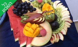 מגש פירות לאירועים