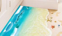 מדבקות רצפה לעיצוב הבית