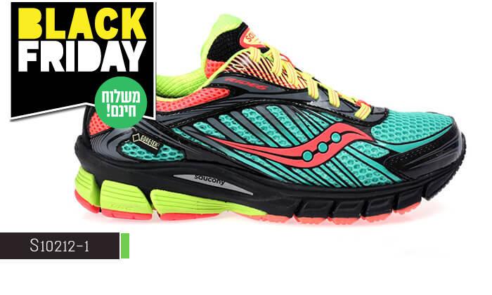 5 נעלי ספורט לנשים Saucony- משלוח חינם