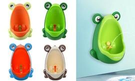 משתנון ילדים בעיצוב צפרדע