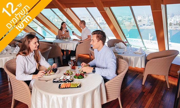 """4 הפלגת סופ""""ש לקפריסין עם מנו ספנות - קרוז של חוויות, שמש, שפע של אוכל והרבה ים"""