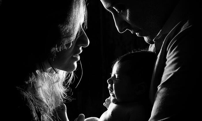 2 צילומי הריון, משפחה או ניו בורן בסטודיו של עידו סקעת, רעננה