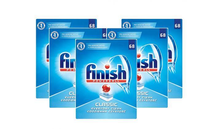 מארז 340 טבליות פיניש Finish Classic למדיח הכלים - משלוח חינם