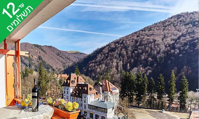 """4 שלג, כיף ואקסטרים - חופשת סקיבסינייה רומניה, כולל סופ""""ש"""