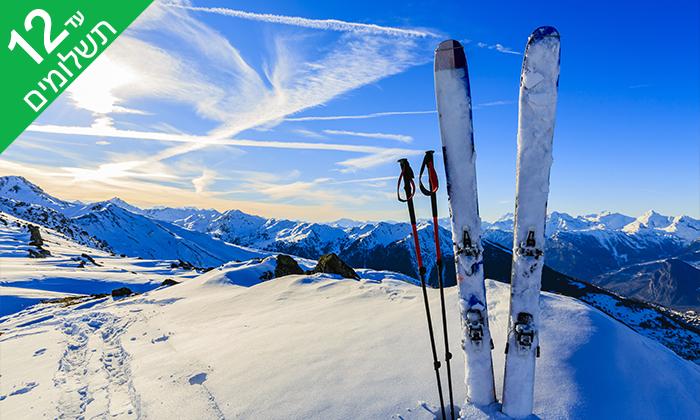 """7 שלג, כיף ואקסטרים - חופשת סקיבסינייה רומניה, כולל סופ""""ש"""