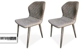 4 כיסאות פינת אוכל Gemma