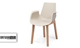 4 כיסאות עם ידיותJane
