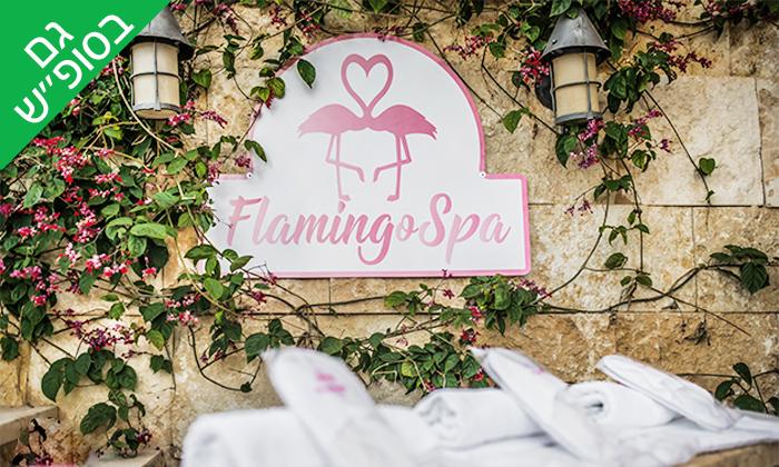 3 יום פינוק ליחיד בפלמינגו ספא Flamingo Spa, חיפה