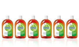 6 יחידות נוזל חיטוי Dettol