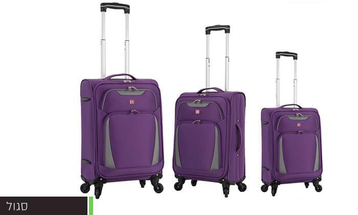 3 מגוון מזוודות SWISS