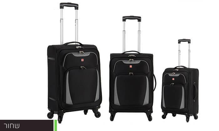 4 מגוון מזוודות SWISS
