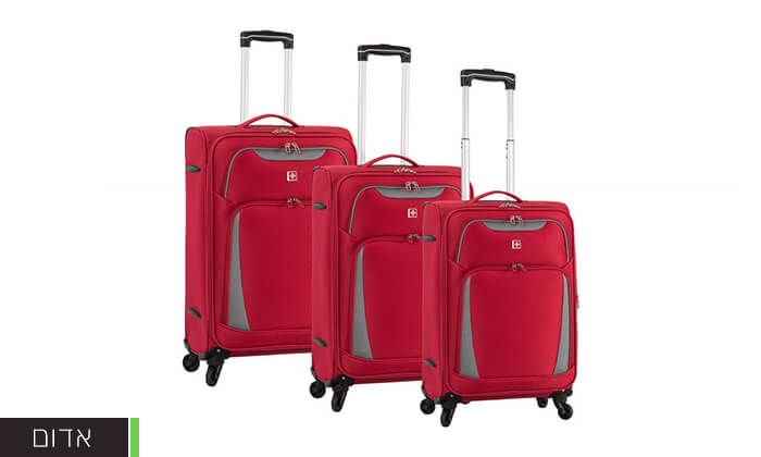 6 מגוון מזוודות SWISS