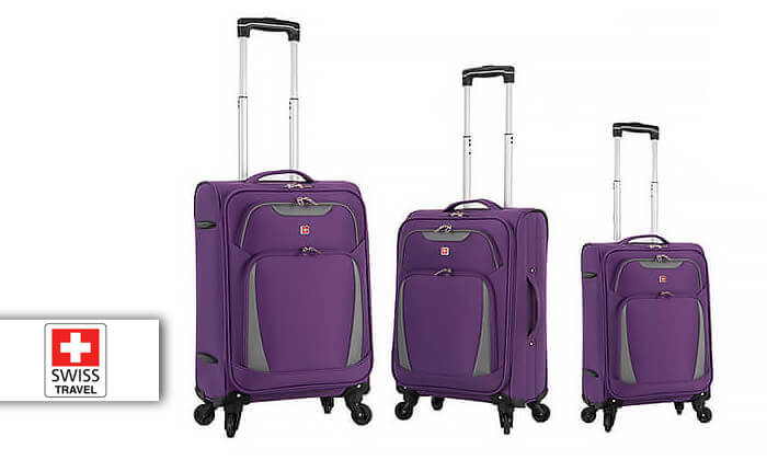 2 מגוון מזוודות SWISS