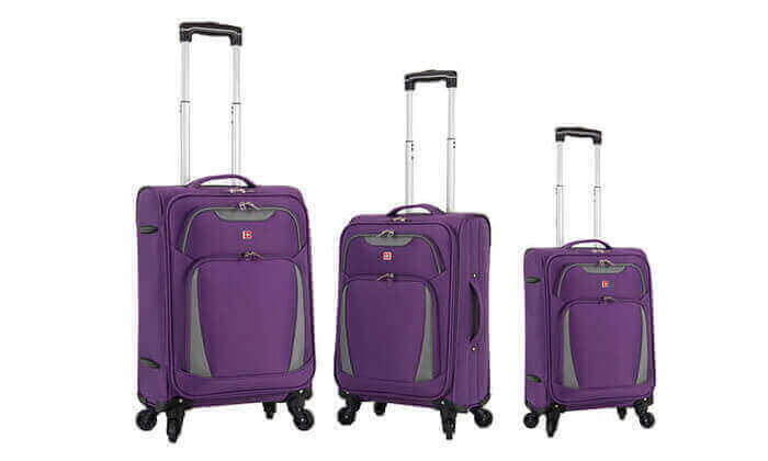 7 מגוון מזוודות SWISS