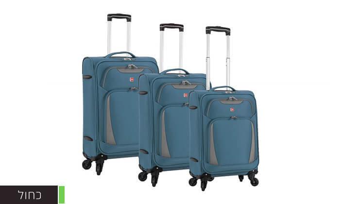 5 מגוון מזוודות SWISS