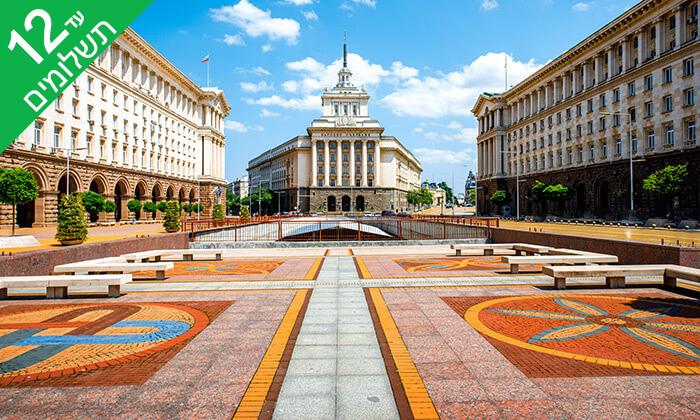 2 חורף בסופיה, בולגריה - מלון מומלץ