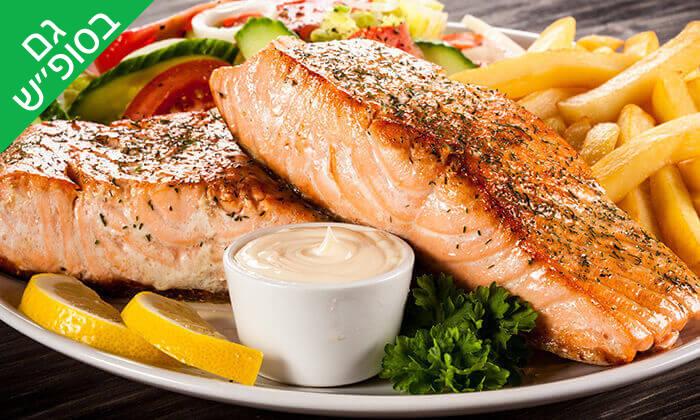 4 ארוחת דגים זוגית במסעדת בני הדייג, מרינה הרצליה