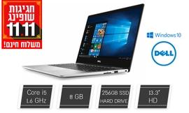 מחשב נייד Dell עם מסך ''13.3