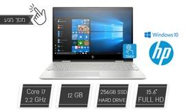 מחשב ניידHP עם מ.מגע ''15.6