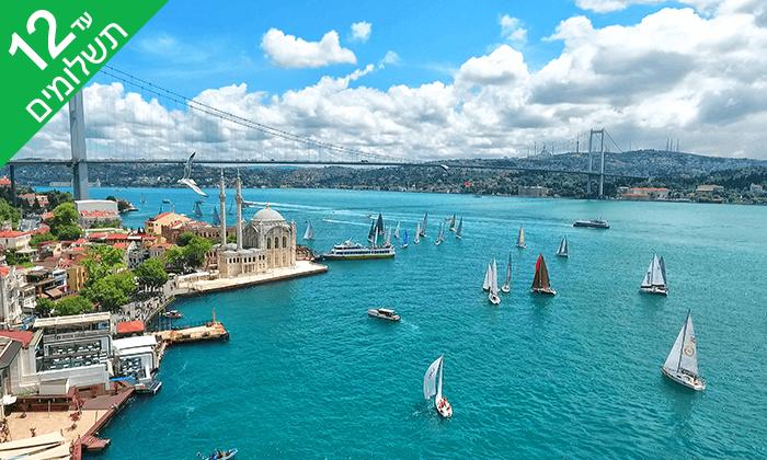 7 איסטנבול ובורסה בחנוכה - טיול מאורגן 5 ימים