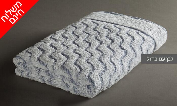 12 מגבת גוף לים ולבריכה, ערד טקסטיל- משלוח חינם