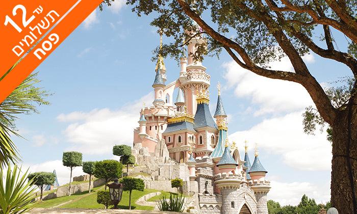 """2 פריז - גבינות, יין וגולת הכותרת - Disneyland, כולל פסח וסופ""""ש"""